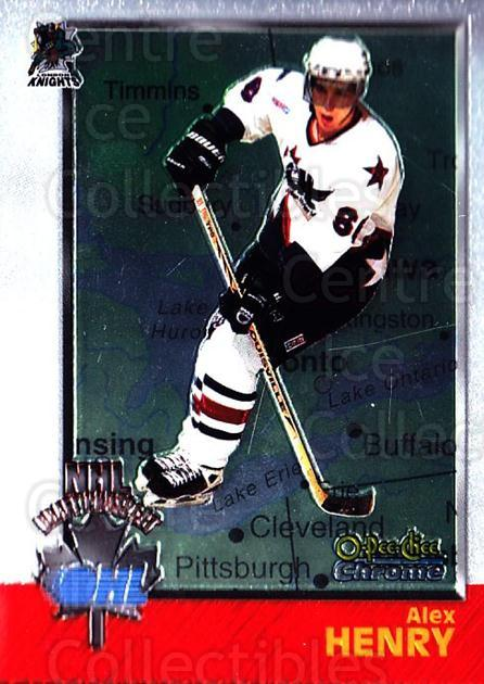 1998 Bowman CHL Chrome OPC International #156 Alex Henry<br/>1 In Stock - $3.00 each - <a href=https://centericecollectibles.foxycart.com/cart?name=1998%20Bowman%20CHL%20Chrome%20OPC%20International%20%23156%20Alex%20Henry...&quantity_max=1&price=$3.00&code=362277 class=foxycart> Buy it now! </a>