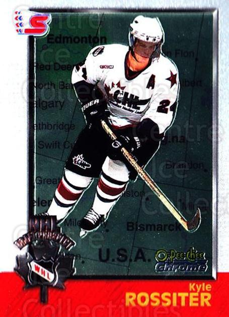 1998 Bowman CHL Chrome OPC International #157 Kyle Rossiter<br/>1 In Stock - $3.00 each - <a href=https://centericecollectibles.foxycart.com/cart?name=1998%20Bowman%20CHL%20Chrome%20OPC%20International%20%23157%20Kyle%20Rossiter...&quantity_max=1&price=$3.00&code=362278 class=foxycart> Buy it now! </a>