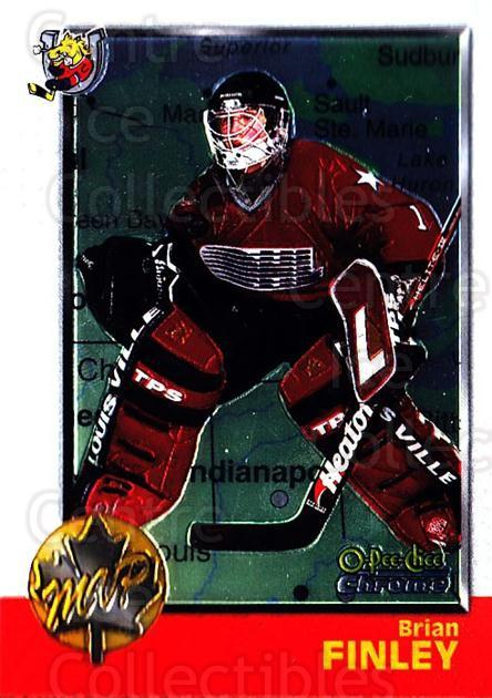 1998 Bowman CHL Chrome OPC International #161 Brian Finley<br/>1 In Stock - $3.00 each - <a href=https://centericecollectibles.foxycart.com/cart?name=1998%20Bowman%20CHL%20Chrome%20OPC%20International%20%23161%20Brian%20Finley...&quantity_max=1&price=$3.00&code=362283 class=foxycart> Buy it now! </a>