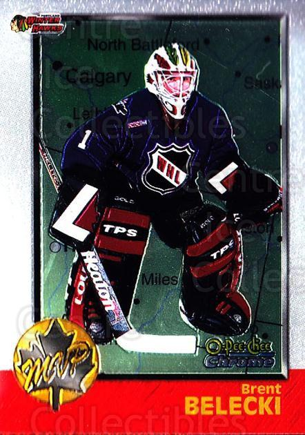 1998 Bowman CHL Chrome OPC International #162 Brent Belecki<br/>1 In Stock - $3.00 each - <a href=https://centericecollectibles.foxycart.com/cart?name=1998%20Bowman%20CHL%20Chrome%20OPC%20International%20%23162%20Brent%20Belecki...&quantity_max=1&price=$3.00&code=362284 class=foxycart> Buy it now! </a>