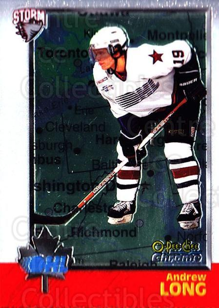 1998 Bowman CHL Chrome OPC International #17 Andrew Long<br/>1 In Stock - $3.00 each - <a href=https://centericecollectibles.foxycart.com/cart?name=1998%20Bowman%20CHL%20Chrome%20OPC%20International%20%2317%20Andrew%20Long...&quantity_max=1&price=$3.00&code=362286 class=foxycart> Buy it now! </a>