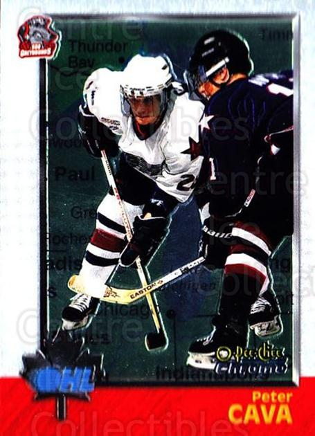 1998 Bowman CHL Chrome OPC International #18 Peter Cava<br/>1 In Stock - $3.00 each - <a href=https://centericecollectibles.foxycart.com/cart?name=1998%20Bowman%20CHL%20Chrome%20OPC%20International%20%2318%20Peter%20Cava...&quantity_max=1&price=$3.00&code=362287 class=foxycart> Buy it now! </a>
