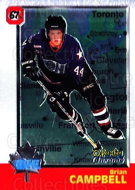 1998 Bowman CHL Chrome OPC International #23 Brian Campbell<br/>1 In Stock - $3.00 each - <a href=https://centericecollectibles.foxycart.com/cart?name=1998%20Bowman%20CHL%20Chrome%20OPC%20International%20%2323%20Brian%20Campbell...&quantity_max=1&price=$3.00&code=362293 class=foxycart> Buy it now! </a>