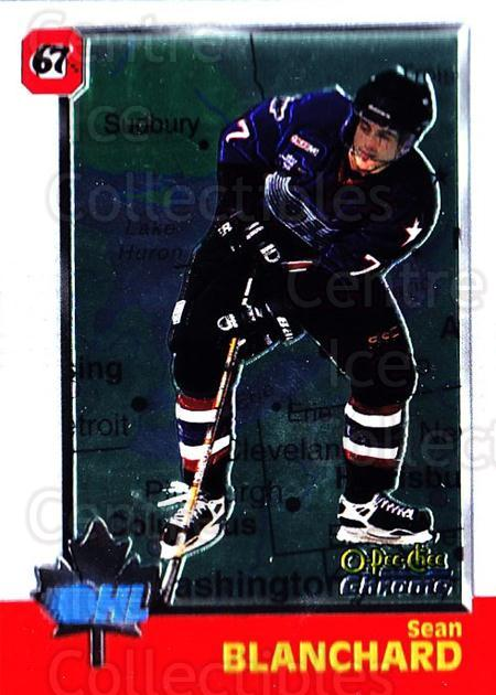 1998 Bowman CHL Chrome OPC International #24 Sean Blanchard<br/>2 In Stock - $3.00 each - <a href=https://centericecollectibles.foxycart.com/cart?name=1998%20Bowman%20CHL%20Chrome%20OPC%20International%20%2324%20Sean%20Blanchard...&quantity_max=2&price=$3.00&code=362294 class=foxycart> Buy it now! </a>