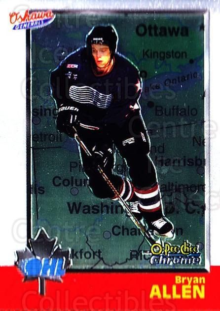1998 Bowman CHL Chrome OPC International #25 Bryan Allen<br/>1 In Stock - $3.00 each - <a href=https://centericecollectibles.foxycart.com/cart?name=1998%20Bowman%20CHL%20Chrome%20OPC%20International%20%2325%20Bryan%20Allen...&quantity_max=1&price=$3.00&code=362295 class=foxycart> Buy it now! </a>