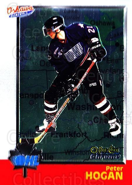 1998 Bowman CHL Chrome OPC International #26 Peter Hogan<br/>1 In Stock - $3.00 each - <a href=https://centericecollectibles.foxycart.com/cart?name=1998%20Bowman%20CHL%20Chrome%20OPC%20International%20%2326%20Peter%20Hogan...&quantity_max=1&price=$3.00&code=362296 class=foxycart> Buy it now! </a>