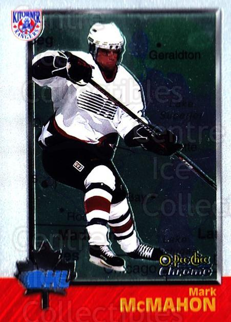 1998 Bowman CHL Chrome OPC International #3 Mark McMahon<br/>1 In Stock - $3.00 each - <a href=https://centericecollectibles.foxycart.com/cart?name=1998%20Bowman%20CHL%20Chrome%20OPC%20International%20%233%20Mark%20McMahon...&quantity_max=1&price=$3.00&code=362299 class=foxycart> Buy it now! </a>