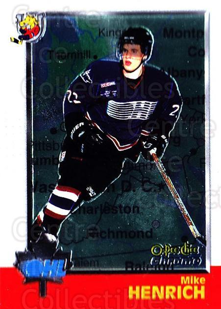 1998 Bowman CHL Chrome OPC International #30 Michael Henrich<br/>1 In Stock - $3.00 each - <a href=https://centericecollectibles.foxycart.com/cart?name=1998%20Bowman%20CHL%20Chrome%20OPC%20International%20%2330%20Michael%20Henrich...&quantity_max=1&price=$3.00&code=362300 class=foxycart> Buy it now! </a>