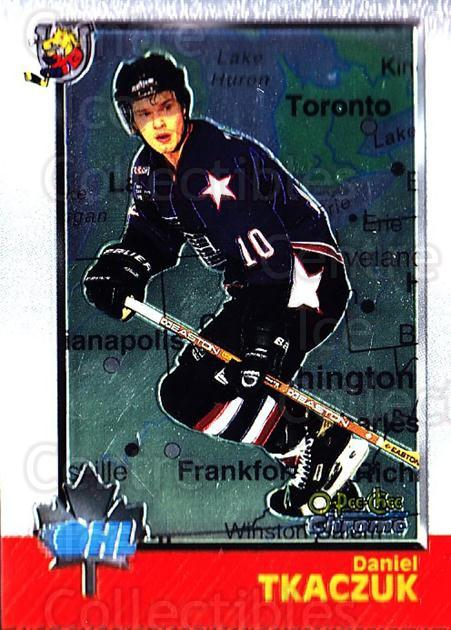 1998 Bowman CHL Chrome OPC International #34 Daniel Tkaczuk<br/>1 In Stock - $3.00 each - <a href=https://centericecollectibles.foxycart.com/cart?name=1998%20Bowman%20CHL%20Chrome%20OPC%20International%20%2334%20Daniel%20Tkaczuk...&quantity_max=1&price=$3.00&code=362304 class=foxycart> Buy it now! </a>