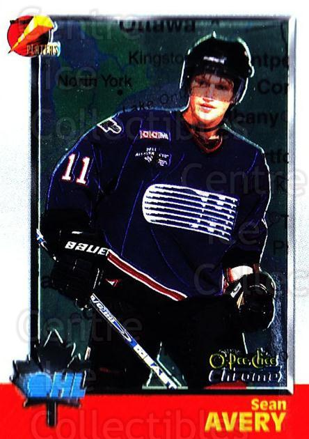 1998 Bowman CHL Chrome OPC International #35 Sean Avery<br/>1 In Stock - $3.00 each - <a href=https://centericecollectibles.foxycart.com/cart?name=1998%20Bowman%20CHL%20Chrome%20OPC%20International%20%2335%20Sean%20Avery...&quantity_max=1&price=$3.00&code=362305 class=foxycart> Buy it now! </a>