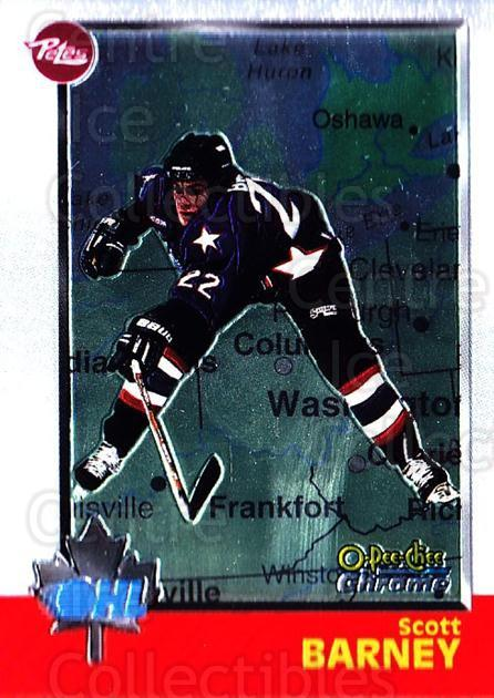 1998 Bowman CHL Chrome OPC International #39 Scott Barney<br/>2 In Stock - $3.00 each - <a href=https://centericecollectibles.foxycart.com/cart?name=1998%20Bowman%20CHL%20Chrome%20OPC%20International%20%2339%20Scott%20Barney...&quantity_max=2&price=$3.00&code=362309 class=foxycart> Buy it now! </a>
