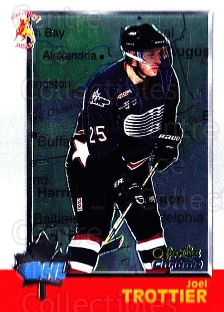1998 Bowman CHL Chrome OPC International #40 Joel Trottier<br/>1 In Stock - $3.00 each - <a href=https://centericecollectibles.foxycart.com/cart?name=1998%20Bowman%20CHL%20Chrome%20OPC%20International%20%2340%20Joel%20Trottier...&quantity_max=1&price=$3.00&code=362311 class=foxycart> Buy it now! </a>