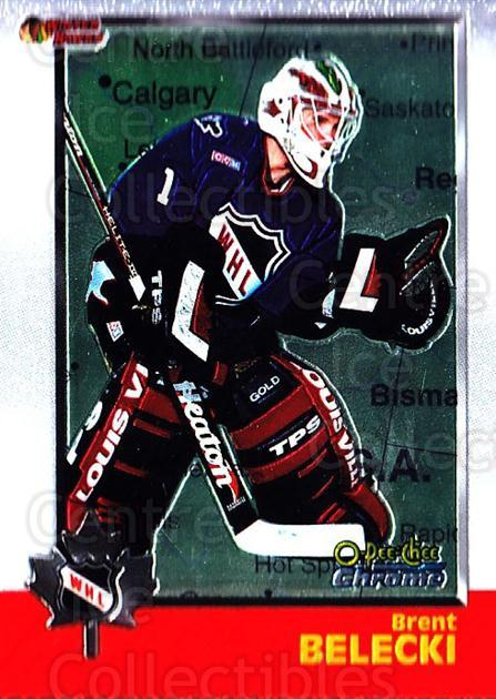 1998 Bowman CHL Chrome OPC International #41 Brent Belecki<br/>1 In Stock - $3.00 each - <a href=https://centericecollectibles.foxycart.com/cart?name=1998%20Bowman%20CHL%20Chrome%20OPC%20International%20%2341%20Brent%20Belecki...&quantity_max=1&price=$3.00&code=362312 class=foxycart> Buy it now! </a>
