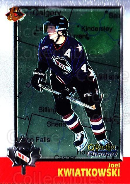 1998 Bowman CHL Chrome OPC International #45 Joel Kwiatkowski<br/>3 In Stock - $3.00 each - <a href=https://centericecollectibles.foxycart.com/cart?name=1998%20Bowman%20CHL%20Chrome%20OPC%20International%20%2345%20Joel%20Kwiatkowsk...&quantity_max=3&price=$3.00&code=362316 class=foxycart> Buy it now! </a>