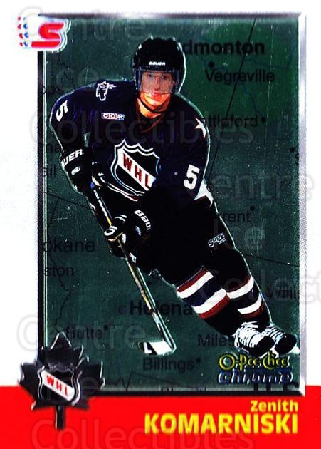 1998 Bowman CHL Chrome OPC International #46 Zenith Komarniski<br/>1 In Stock - $3.00 each - <a href=https://centericecollectibles.foxycart.com/cart?name=1998%20Bowman%20CHL%20Chrome%20OPC%20International%20%2346%20Zenith%20Komarnis...&quantity_max=1&price=$3.00&code=362317 class=foxycart> Buy it now! </a>
