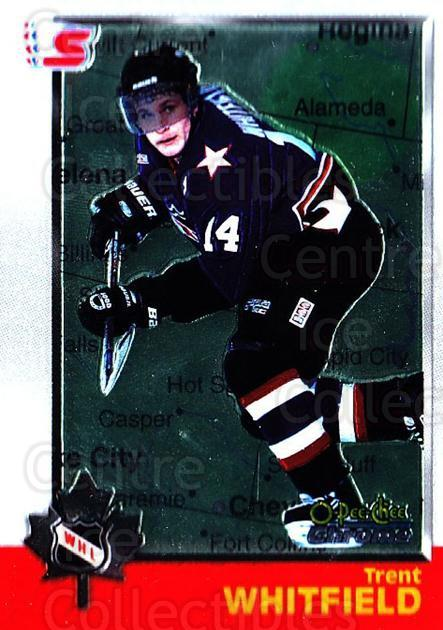 1998 Bowman CHL Chrome OPC International #50 Trent Whitfield<br/>1 In Stock - $3.00 each - <a href=https://centericecollectibles.foxycart.com/cart?name=1998%20Bowman%20CHL%20Chrome%20OPC%20International%20%2350%20Trent%20Whitfield...&quantity_max=1&price=$3.00&code=362322 class=foxycart> Buy it now! </a>