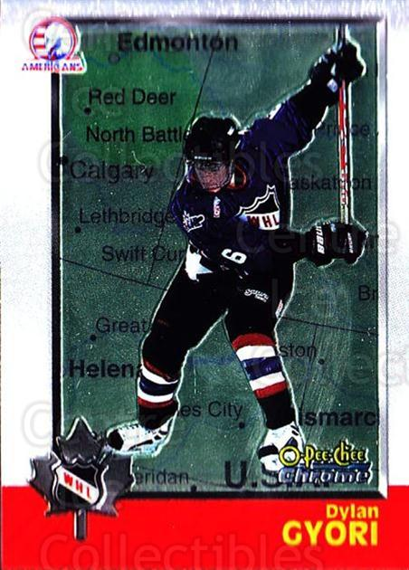 1998 Bowman CHL Chrome OPC International #51 Dylan Gyori<br/>1 In Stock - $3.00 each - <a href=https://centericecollectibles.foxycart.com/cart?name=1998%20Bowman%20CHL%20Chrome%20OPC%20International%20%2351%20Dylan%20Gyori...&quantity_max=1&price=$3.00&code=362323 class=foxycart> Buy it now! </a>