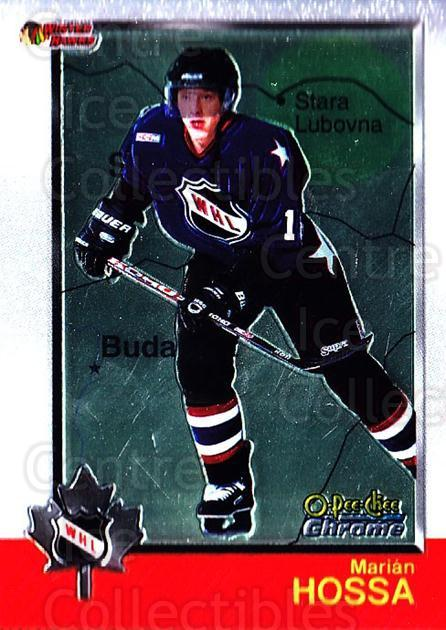 1998 Bowman CHL Chrome OPC International #53 Marian Hossa<br/>1 In Stock - $3.00 each - <a href=https://centericecollectibles.foxycart.com/cart?name=1998%20Bowman%20CHL%20Chrome%20OPC%20International%20%2353%20Marian%20Hossa...&quantity_max=1&price=$3.00&code=362325 class=foxycart> Buy it now! </a>