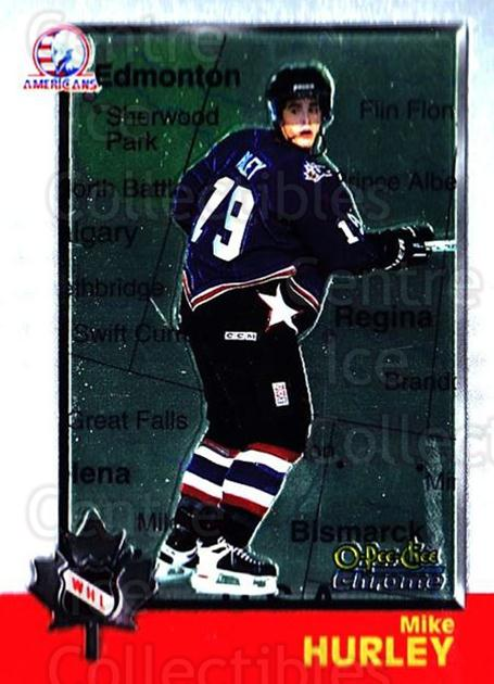 1998 Bowman CHL Chrome OPC International #54 Mike Hurley<br/>1 In Stock - $3.00 each - <a href=https://centericecollectibles.foxycart.com/cart?name=1998%20Bowman%20CHL%20Chrome%20OPC%20International%20%2354%20Mike%20Hurley...&quantity_max=1&price=$3.00&code=362326 class=foxycart> Buy it now! </a>