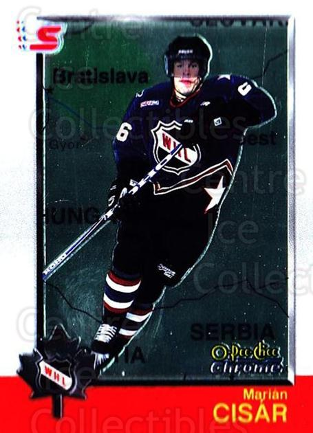 1998 Bowman CHL Chrome OPC International #58 Marian Cisar<br/>1 In Stock - $3.00 each - <a href=https://centericecollectibles.foxycart.com/cart?name=1998%20Bowman%20CHL%20Chrome%20OPC%20International%20%2358%20Marian%20Cisar...&quantity_max=1&price=$3.00&code=362330 class=foxycart> Buy it now! </a>