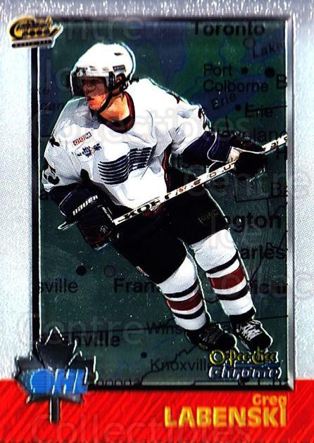 1998 Bowman CHL Chrome OPC International #6 Greg Labenski<br/>1 In Stock - $3.00 each - <a href=https://centericecollectibles.foxycart.com/cart?name=1998%20Bowman%20CHL%20Chrome%20OPC%20International%20%236%20Greg%20Labenski...&quantity_max=1&price=$3.00&code=362332 class=foxycart> Buy it now! </a>
