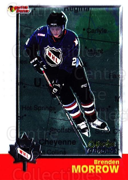 1998 Bowman CHL Chrome OPC International #60 Brenden Morrow<br/>1 In Stock - $3.00 each - <a href=https://centericecollectibles.foxycart.com/cart?name=1998%20Bowman%20CHL%20Chrome%20OPC%20International%20%2360%20Brenden%20Morrow...&quantity_max=1&price=$3.00&code=362333 class=foxycart> Buy it now! </a>