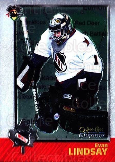 1998 Bowman CHL Chrome OPC International #61 Evan Lindsay<br/>1 In Stock - $3.00 each - <a href=https://centericecollectibles.foxycart.com/cart?name=1998%20Bowman%20CHL%20Chrome%20OPC%20International%20%2361%20Evan%20Lindsay...&quantity_max=1&price=$3.00&code=362334 class=foxycart> Buy it now! </a>