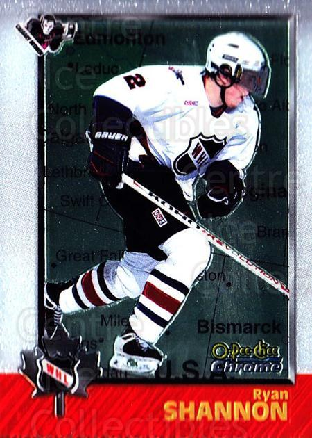 1998 Bowman CHL Chrome OPC International #63 Ryan Shannon<br/>2 In Stock - $3.00 each - <a href=https://centericecollectibles.foxycart.com/cart?name=1998%20Bowman%20CHL%20Chrome%20OPC%20International%20%2363%20Ryan%20Shannon...&quantity_max=2&price=$3.00&code=362336 class=foxycart> Buy it now! </a>