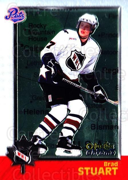 1998 Bowman CHL Chrome OPC International #66 Brad Stuart<br/>1 In Stock - $3.00 each - <a href=https://centericecollectibles.foxycart.com/cart?name=1998%20Bowman%20CHL%20Chrome%20OPC%20International%20%2366%20Brad%20Stuart...&quantity_max=1&price=$3.00&code=362339 class=foxycart> Buy it now! </a>