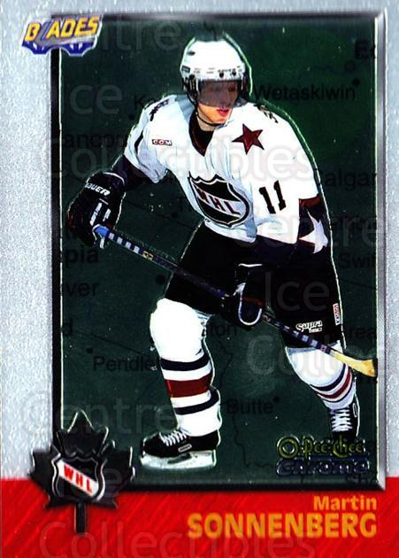 1998 Bowman CHL Chrome OPC International #69 Martin Sonnenberg<br/>3 In Stock - $3.00 each - <a href=https://centericecollectibles.foxycart.com/cart?name=1998%20Bowman%20CHL%20Chrome%20OPC%20International%20%2369%20Martin%20Sonnenbe...&quantity_max=3&price=$3.00&code=362342 class=foxycart> Buy it now! </a>