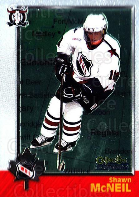 1998 Bowman CHL Chrome OPC International #71 Shawn McNeil<br/>1 In Stock - $3.00 each - <a href=https://centericecollectibles.foxycart.com/cart?name=1998%20Bowman%20CHL%20Chrome%20OPC%20International%20%2371%20Shawn%20McNeil...&quantity_max=1&price=$3.00&code=362345 class=foxycart> Buy it now! </a>