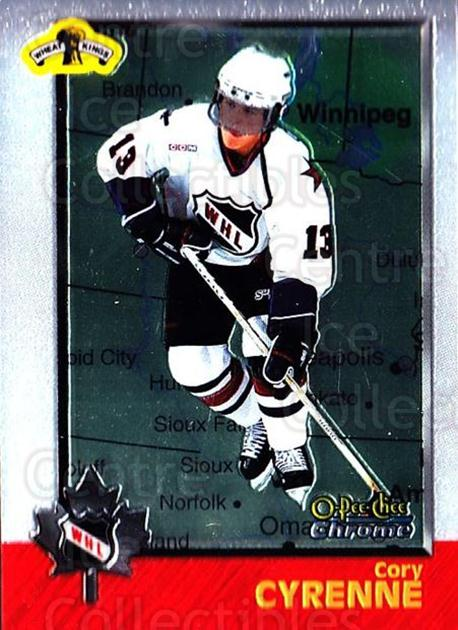 1998 Bowman CHL Chrome OPC International #74 Cory Cyrenne<br/>1 In Stock - $3.00 each - <a href=https://centericecollectibles.foxycart.com/cart?name=1998%20Bowman%20CHL%20Chrome%20OPC%20International%20%2374%20Cory%20Cyrenne...&quantity_max=1&price=$3.00&code=362348 class=foxycart> Buy it now! </a>