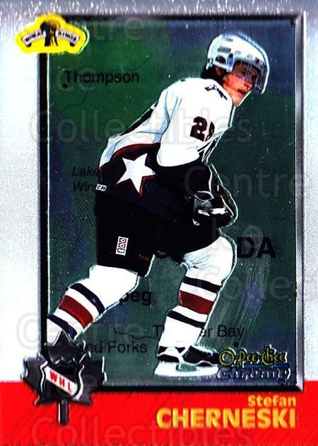 1998 Bowman CHL Chrome OPC International #76 Stefan Cherneski<br/>1 In Stock - $3.00 each - <a href=https://centericecollectibles.foxycart.com/cart?name=1998%20Bowman%20CHL%20Chrome%20OPC%20International%20%2376%20Stefan%20Chernesk...&quantity_max=1&price=$3.00&code=362350 class=foxycart> Buy it now! </a>