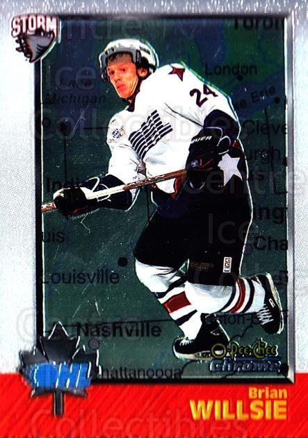 1998 Bowman CHL Chrome OPC International #8 Brian Willsie<br/>1 In Stock - $3.00 each - <a href=https://centericecollectibles.foxycart.com/cart?name=1998%20Bowman%20CHL%20Chrome%20OPC%20International%20%238%20Brian%20Willsie...&quantity_max=1&price=$3.00&code=362354 class=foxycart> Buy it now! </a>