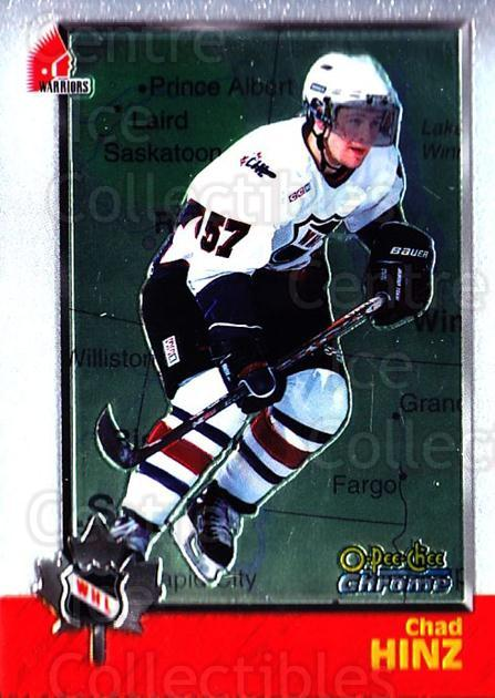 1998 Bowman CHL Chrome OPC International #80 Chad Hinz<br/>2 In Stock - $3.00 each - <a href=https://centericecollectibles.foxycart.com/cart?name=1998%20Bowman%20CHL%20Chrome%20OPC%20International%20%2380%20Chad%20Hinz...&quantity_max=2&price=$3.00&code=362355 class=foxycart> Buy it now! </a>