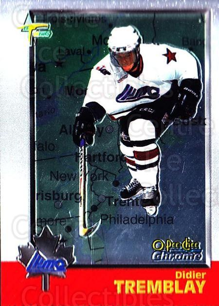 1998 Bowman CHL Chrome OPC International #84 Didier Tremblay<br/>1 In Stock - $3.00 each - <a href=https://centericecollectibles.foxycart.com/cart?name=1998%20Bowman%20CHL%20Chrome%20OPC%20International%20%2384%20Didier%20Tremblay...&quantity_max=1&price=$3.00&code=362358 class=foxycart> Buy it now! </a>