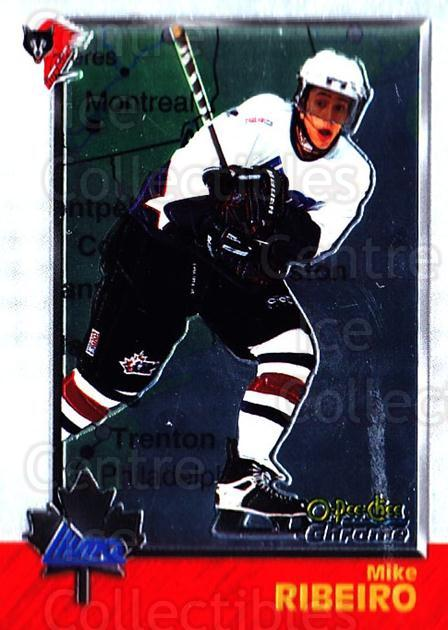 1998 Bowman CHL Chrome OPC International #85 Mike Ribeiro<br/>1 In Stock - $3.00 each - <a href=https://centericecollectibles.foxycart.com/cart?name=1998%20Bowman%20CHL%20Chrome%20OPC%20International%20%2385%20Mike%20Ribeiro...&quantity_max=1&price=$3.00&code=362359 class=foxycart> Buy it now! </a>