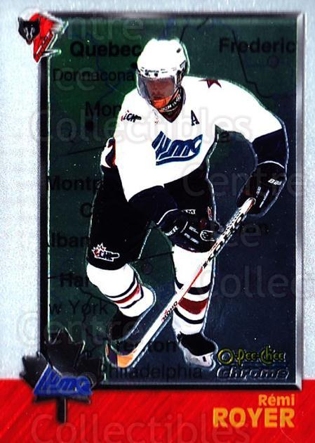 1998 Bowman CHL Chrome OPC International #87 Remi Royer<br/>1 In Stock - $3.00 each - <a href=https://centericecollectibles.foxycart.com/cart?name=1998%20Bowman%20CHL%20Chrome%20OPC%20International%20%2387%20Remi%20Royer...&quantity_max=1&price=$3.00&code=362361 class=foxycart> Buy it now! </a>