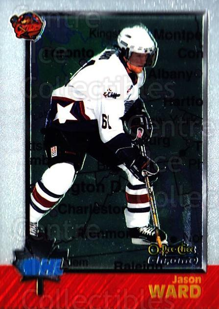1998 Bowman CHL Chrome OPC International #9 Jason Ward<br/>1 In Stock - $3.00 each - <a href=https://centericecollectibles.foxycart.com/cart?name=1998%20Bowman%20CHL%20Chrome%20OPC%20International%20%239%20Jason%20Ward...&quantity_max=1&price=$3.00&code=362364 class=foxycart> Buy it now! </a>