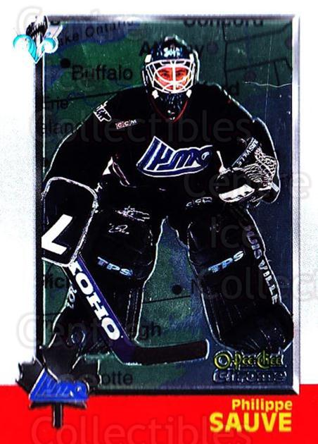 1998 Bowman CHL Chrome OPC International #101 Philippe Sauve<br/>1 In Stock - $3.00 each - <a href=https://centericecollectibles.foxycart.com/cart?name=1998%20Bowman%20CHL%20Chrome%20OPC%20International%20%23101%20Philippe%20Sauve...&quantity_max=1&price=$3.00&code=362370 class=foxycart> Buy it now! </a>