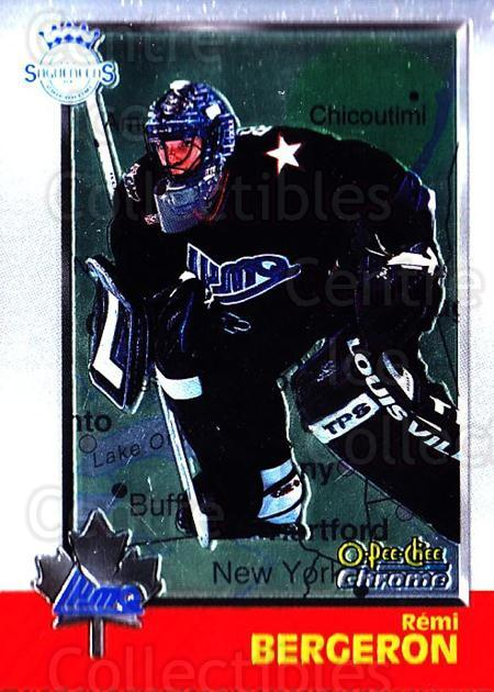 1998 Bowman CHL Chrome OPC International #102 Remi Bergeron<br/>2 In Stock - $3.00 each - <a href=https://centericecollectibles.foxycart.com/cart?name=1998%20Bowman%20CHL%20Chrome%20OPC%20International%20%23102%20Remi%20Bergeron...&quantity_max=2&price=$3.00&code=362371 class=foxycart> Buy it now! </a>