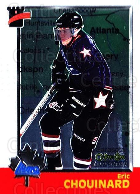 1998 Bowman CHL Chrome OPC International #104 Eric Chouinard<br/>3 In Stock - $3.00 each - <a href=https://centericecollectibles.foxycart.com/cart?name=1998%20Bowman%20CHL%20Chrome%20OPC%20International%20%23104%20Eric%20Chouinard...&quantity_max=3&price=$3.00&code=362373 class=foxycart> Buy it now! </a>
