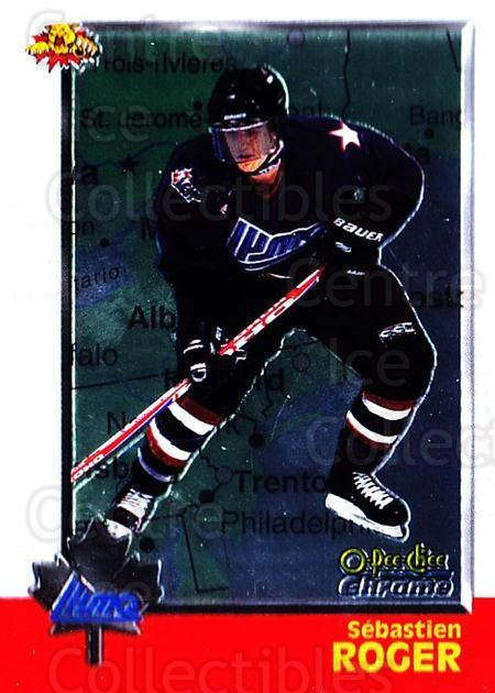 1998 Bowman CHL Chrome OPC International #106 Sebastien Roger<br/>1 In Stock - $3.00 each - <a href=https://centericecollectibles.foxycart.com/cart?name=1998%20Bowman%20CHL%20Chrome%20OPC%20International%20%23106%20Sebastien%20Roger...&quantity_max=1&price=$3.00&code=362375 class=foxycart> Buy it now! </a>