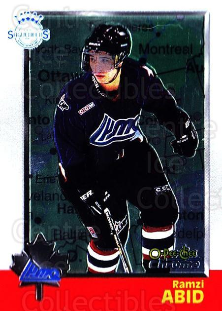 1998 Bowman CHL Chrome OPC International #110 Ramzi Abid<br/>1 In Stock - $3.00 each - <a href=https://centericecollectibles.foxycart.com/cart?name=1998%20Bowman%20CHL%20Chrome%20OPC%20International%20%23110%20Ramzi%20Abid...&quantity_max=1&price=$3.00&code=362379 class=foxycart> Buy it now! </a>