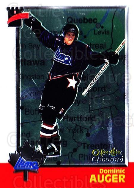 1998 Bowman CHL Chrome OPC International #112 Dominic Auger<br/>1 In Stock - $3.00 each - <a href=https://centericecollectibles.foxycart.com/cart?name=1998%20Bowman%20CHL%20Chrome%20OPC%20International%20%23112%20Dominic%20Auger...&quantity_max=1&price=$3.00&code=362381 class=foxycart> Buy it now! </a>