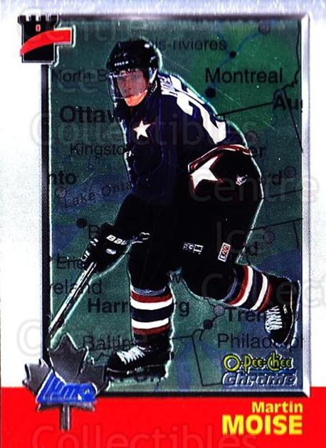 1998 Bowman CHL Chrome OPC International #113 Martin Moise<br/>1 In Stock - $3.00 each - <a href=https://centericecollectibles.foxycart.com/cart?name=1998%20Bowman%20CHL%20Chrome%20OPC%20International%20%23113%20Martin%20Moise...&quantity_max=1&price=$3.00&code=362382 class=foxycart> Buy it now! </a>