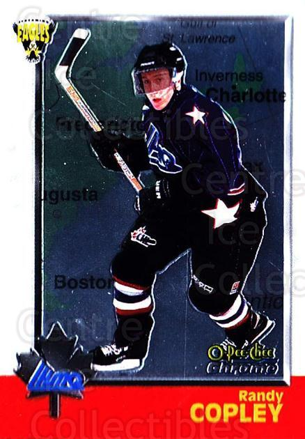 1998 Bowman CHL Chrome OPC International #114 Randy Copley<br/>1 In Stock - $3.00 each - <a href=https://centericecollectibles.foxycart.com/cart?name=1998%20Bowman%20CHL%20Chrome%20OPC%20International%20%23114%20Randy%20Copley...&quantity_max=1&price=$3.00&code=362383 class=foxycart> Buy it now! </a>