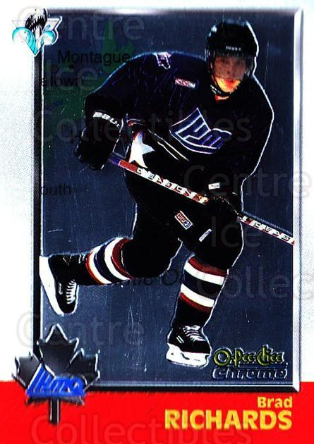 1998 Bowman CHL Chrome OPC International #116 Brad Richards<br/>1 In Stock - $3.00 each - <a href=https://centericecollectibles.foxycart.com/cart?name=1998%20Bowman%20CHL%20Chrome%20OPC%20International%20%23116%20Brad%20Richards...&quantity_max=1&price=$3.00&code=362385 class=foxycart> Buy it now! </a>