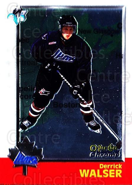 1998 Bowman CHL Chrome OPC International #119 Derrick Walser<br/>1 In Stock - $3.00 each - <a href=https://centericecollectibles.foxycart.com/cart?name=1998%20Bowman%20CHL%20Chrome%20OPC%20International%20%23119%20Derrick%20Walser...&quantity_max=1&price=$3.00&code=362388 class=foxycart> Buy it now! </a>