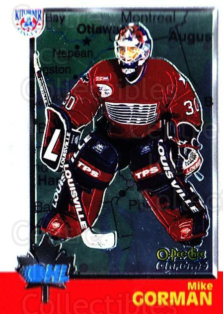 1998 Bowman CHL Chrome OPC International #12 Mike Gorman<br/>1 In Stock - $3.00 each - <a href=https://centericecollectibles.foxycart.com/cart?name=1998%20Bowman%20CHL%20Chrome%20OPC%20International%20%2312%20Mike%20Gorman...&quantity_max=1&price=$3.00&code=362389 class=foxycart> Buy it now! </a>